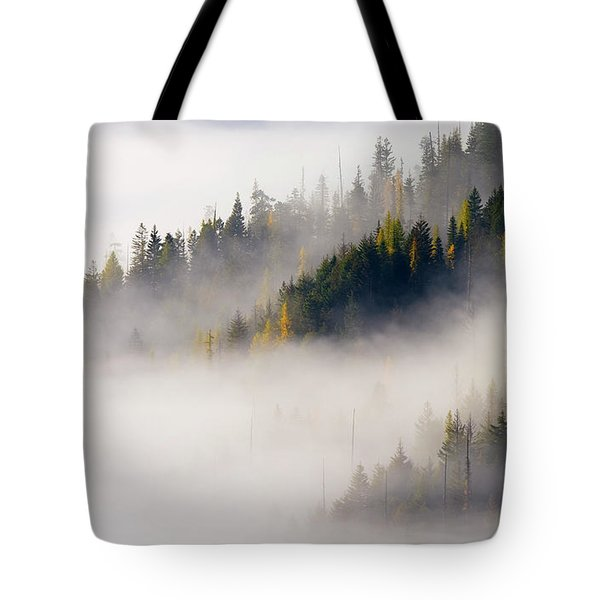 Gold In Them Hills Tote Bag by Mike  Dawson
