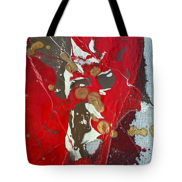 gold inhaling Jaffar Tote Bag