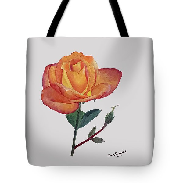 Gold Medal Rose Tote Bag