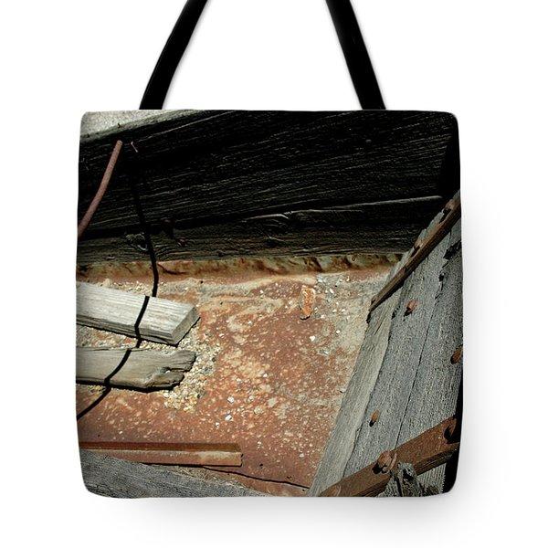 Gold Minecart Tote Bag by LeeAnn McLaneGoetz McLaneGoetzStudioLLCcom