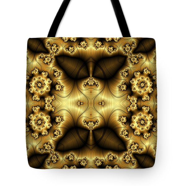 Gold N Brown Phone Case Tote Bag