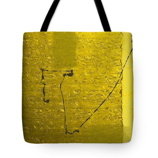 Gold Parchment Tote Bag