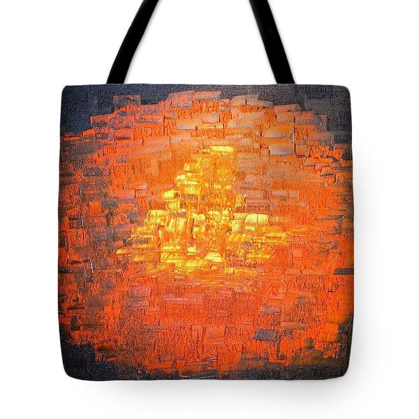 Tote Bag featuring the painting Gold by Piety Dsilva