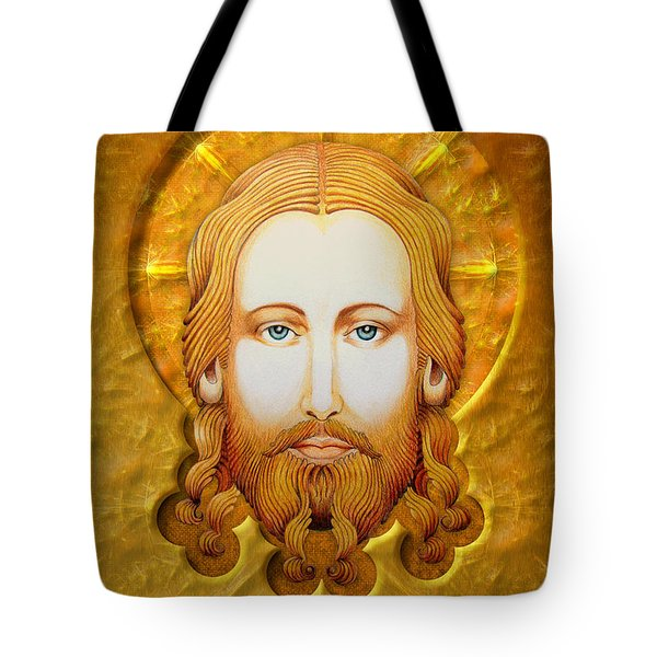 Gold Plate Icon Tote Bag