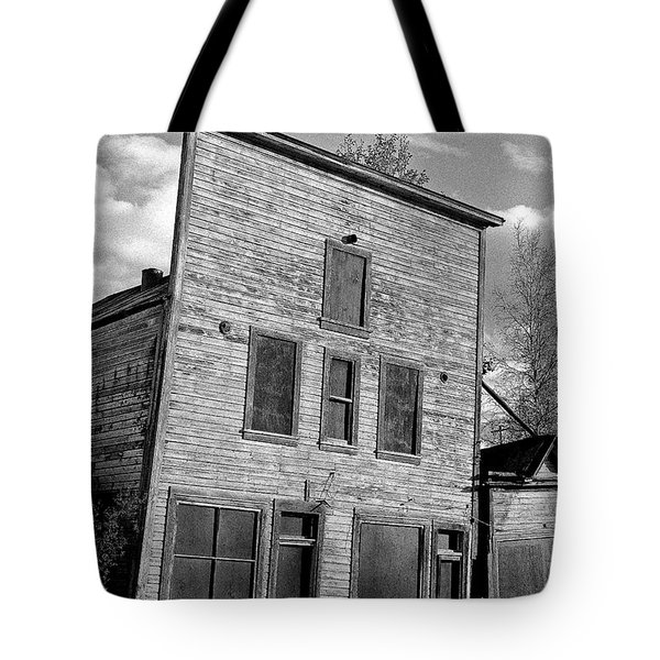 Gold Rush Saloon - Dawson City Tote Bag by Juergen Weiss
