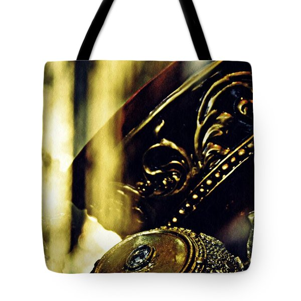 Gold Tote Bag by Sarah Loft