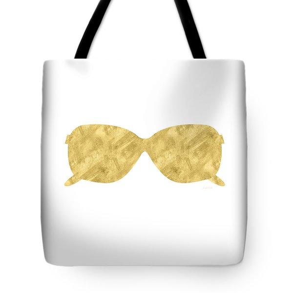 Gold Shades- Art By Linda Woods Tote Bag