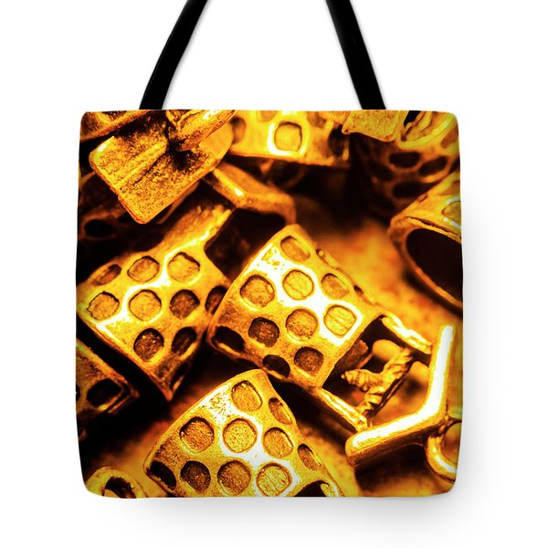 Gold Treasures Tote Bag