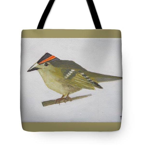 Goldcrest Tote Bag
