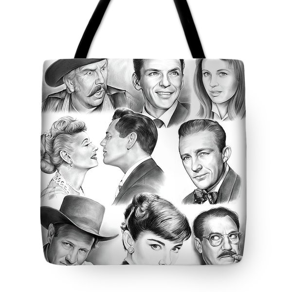 Golden Age Montage Tote Bag