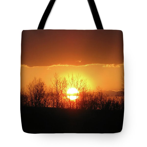 Golden Arch Sunset Tote Bag