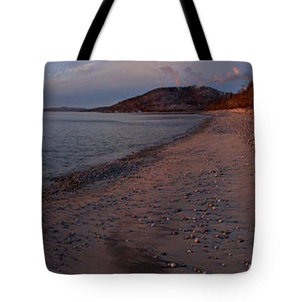 Golden Beach Tote Bag