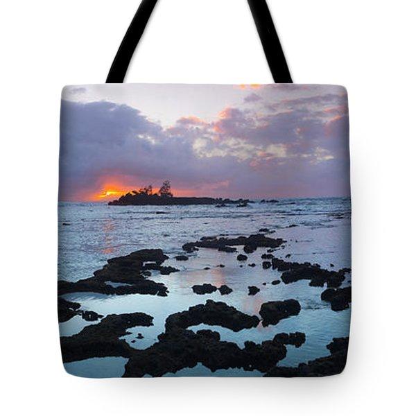 Golden Beacon Tote Bag