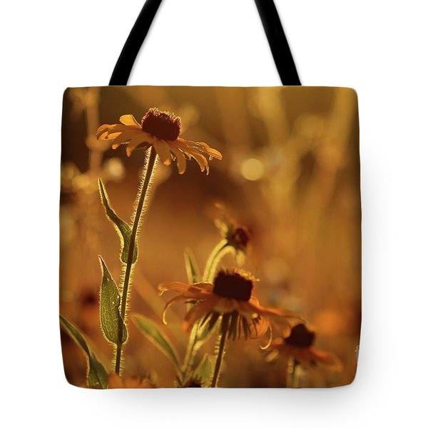 Golden Black Eyed Susan Tote Bag
