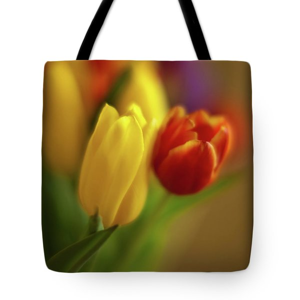 Golden Bouquet Tote Bag by Mike Reid