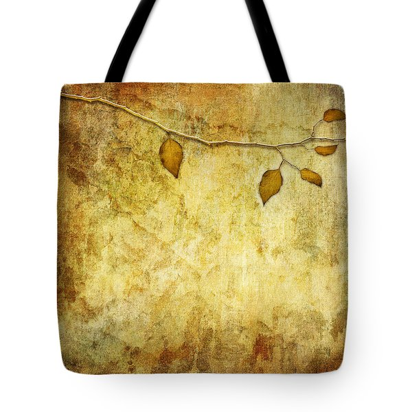 Golden Branch Of Hope  Tote Bag
