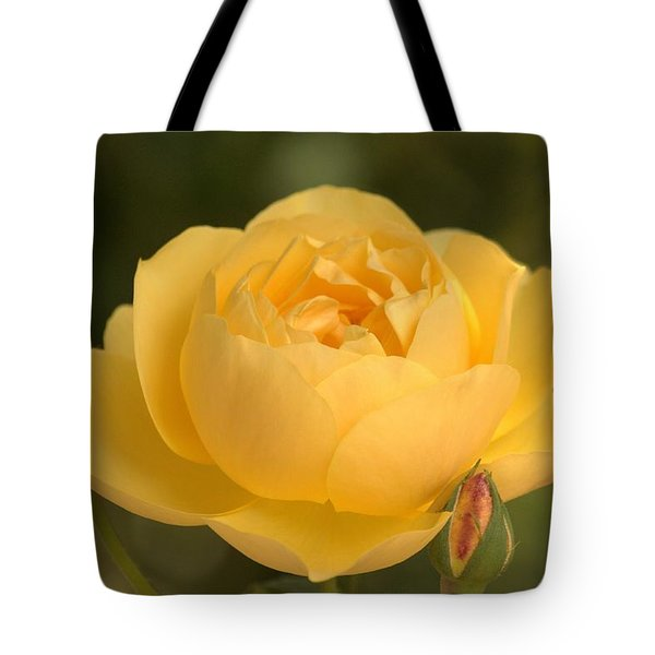 Golden Breath Tote Bag