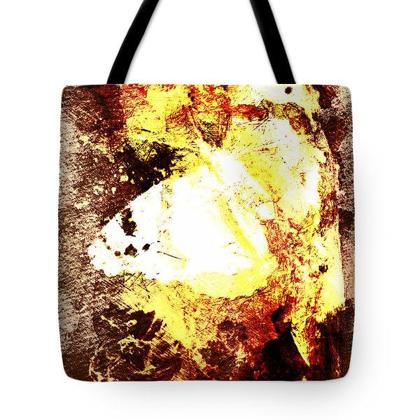 Golden Butterfly Tote Bag