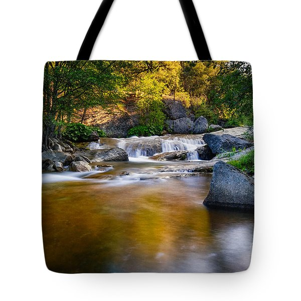 Golden Calm Tote Bag
