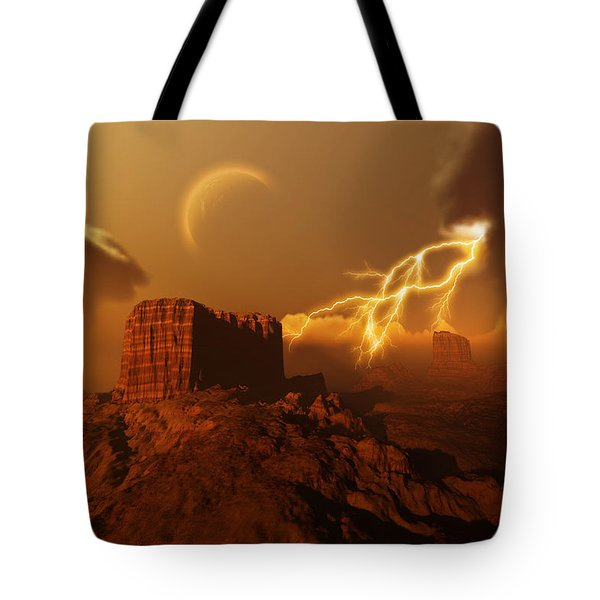 Golden Canyon Tote Bag by Corey Ford