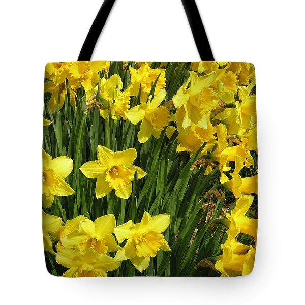Golden Daffodils Tote Bag