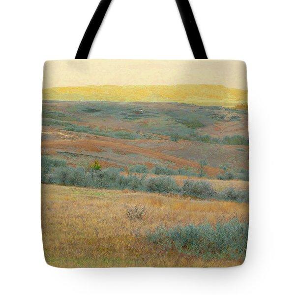 Golden Dakota Horizon Dream Tote Bag