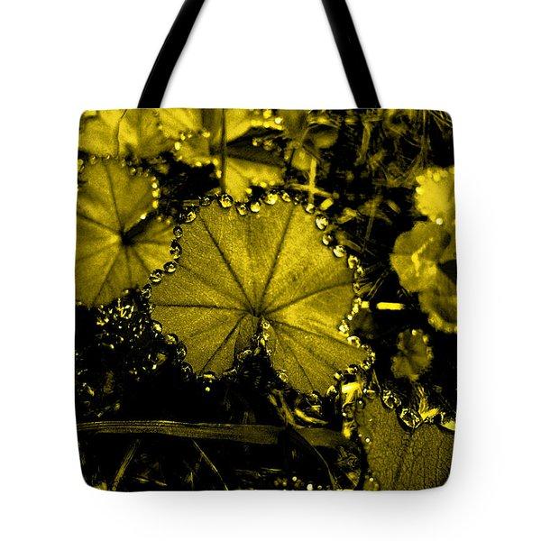 Golden Dew Tote Bag