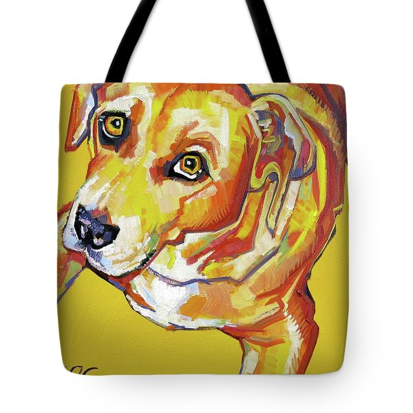 Golden Dog Tote Bag