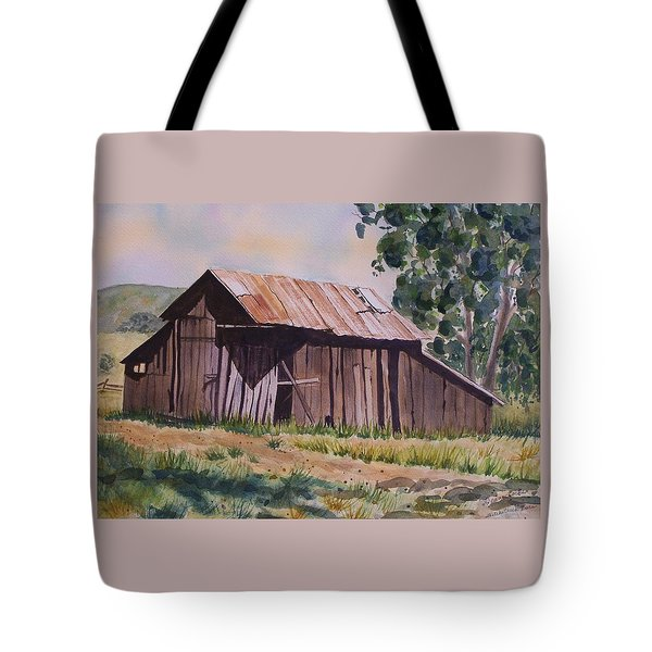Golden Eagle Ranch Barn Tote Bag
