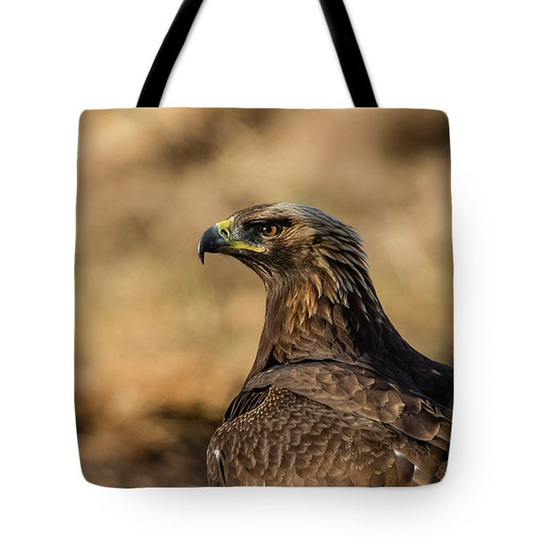 Golden Eagle Tote Bag by Torbjorn Swenelius