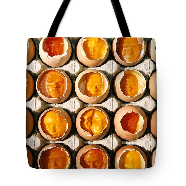 Golden Eggs 2 Tote Bag by Mark Cawood