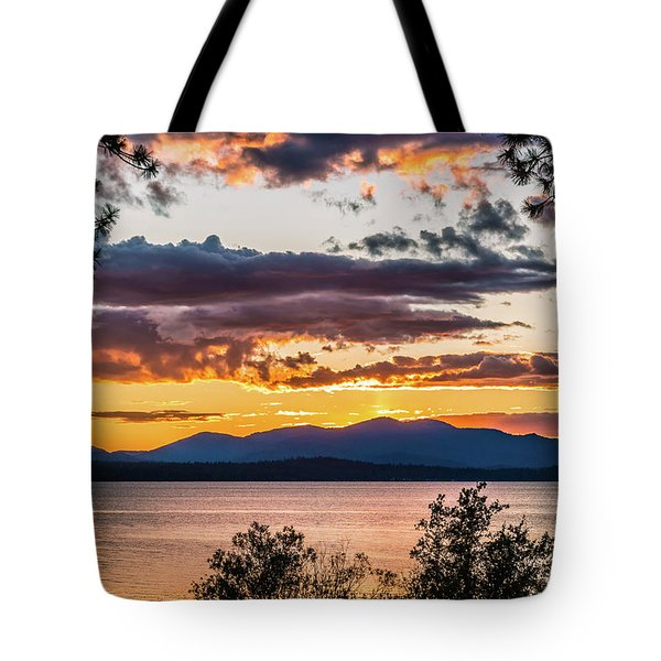 Golden Equinox Tote Bag