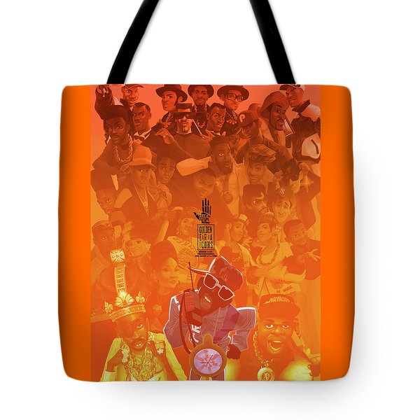 Golden Era Icons Collage 1 Tote Bag
