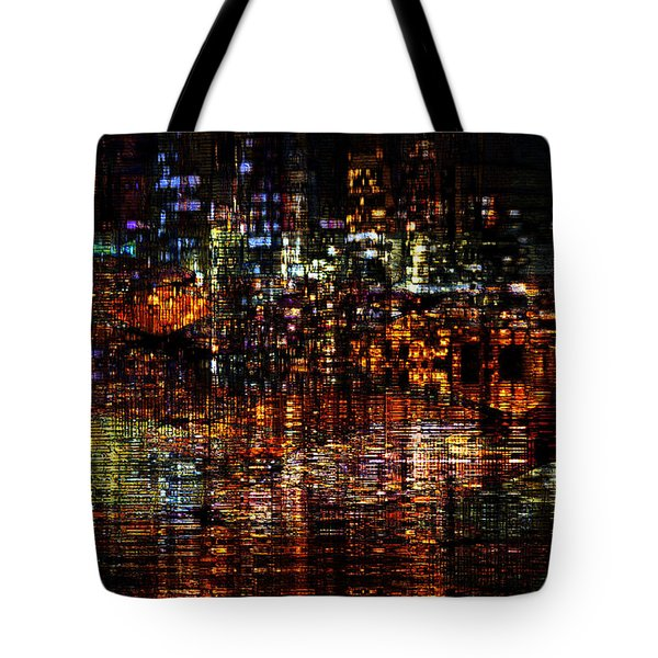 Golden Evening Tote Bag