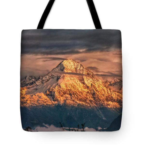 Golden Evening Sun Tote Bag by Hanny Heim