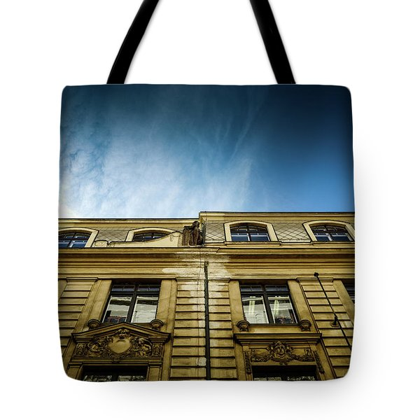 Golden Facade Tote Bag