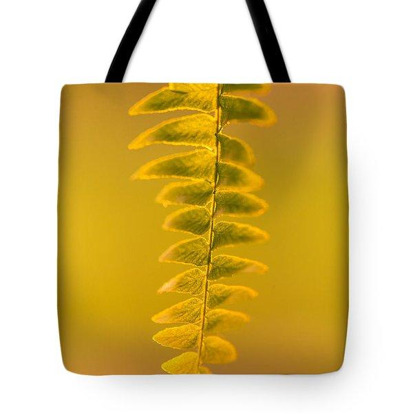 Golden Fern Tote Bag