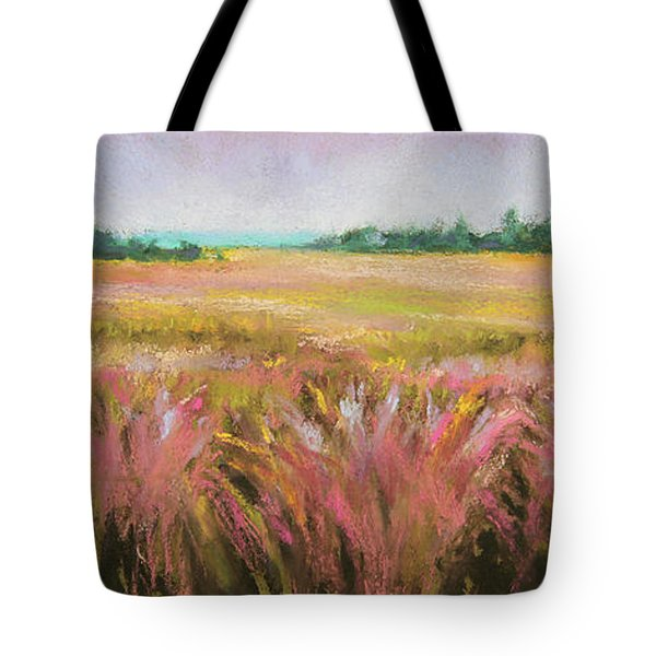 Golden Field Tote Bag