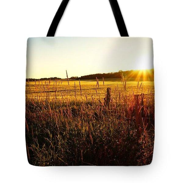 Golden Fields Tote Bag