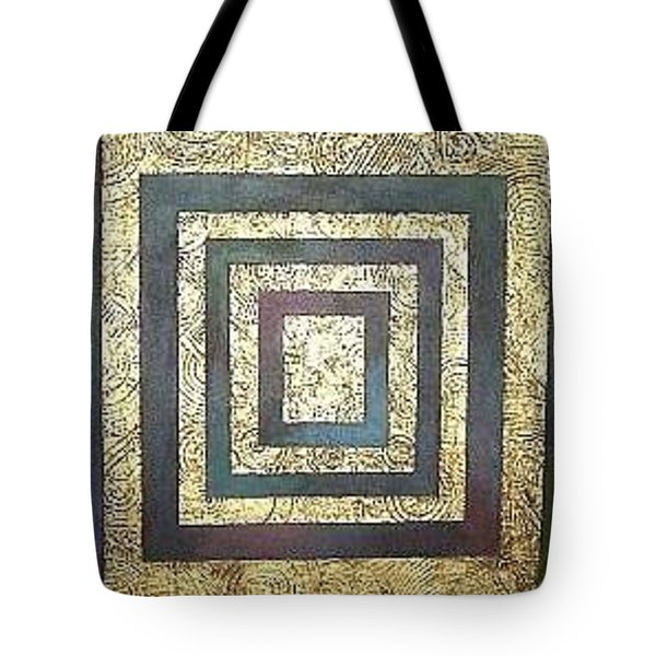 Golden Fortress Tote Bag by Bernard Goodman