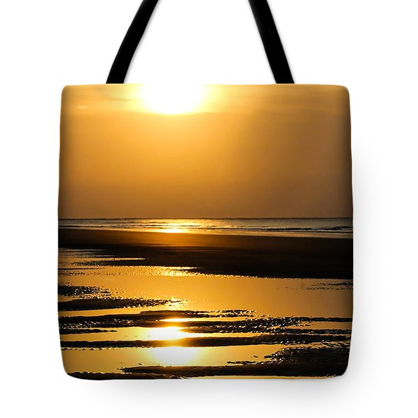Golden Fripp Island Tote Bag