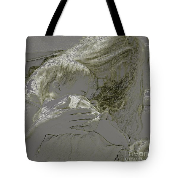 Golden Tote Bag by Gary Everson