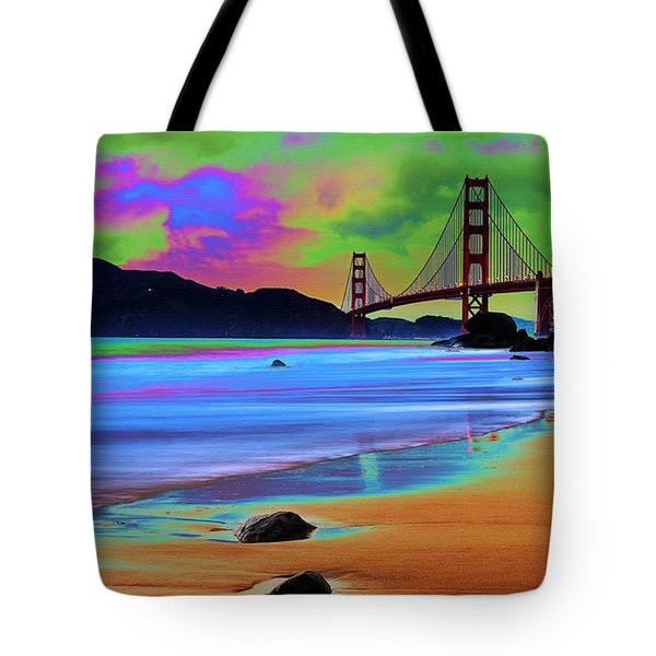 Golden Gate 2 Tote Bag