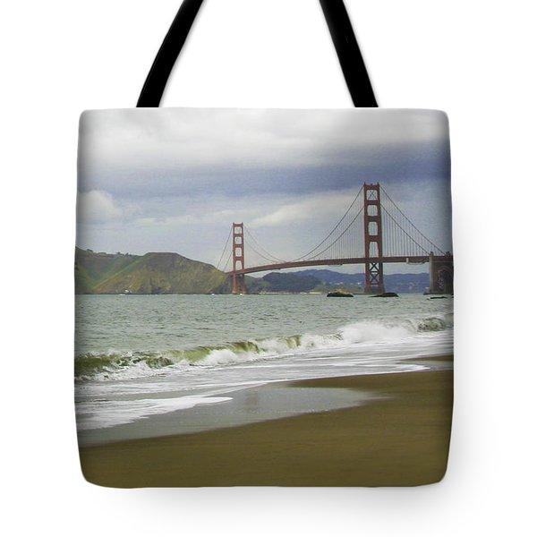 Golden Gate Bridge #4 Tote Bag