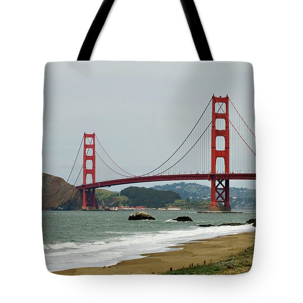 Golden Gate Bridge From Baker Beach Tote Bag