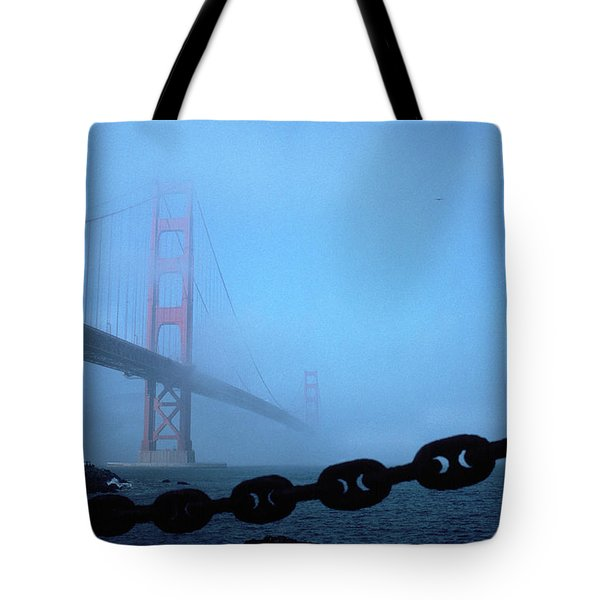 Golden Gate Bridge From Fort Point Tote Bag