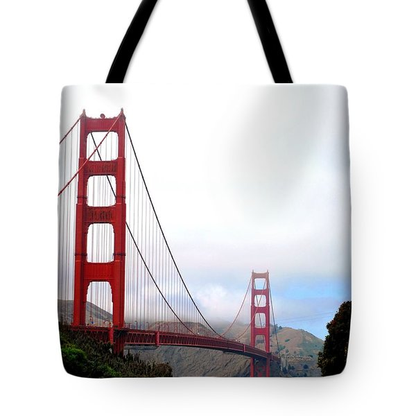 Golden Gate Bridge Full View Tote Bag