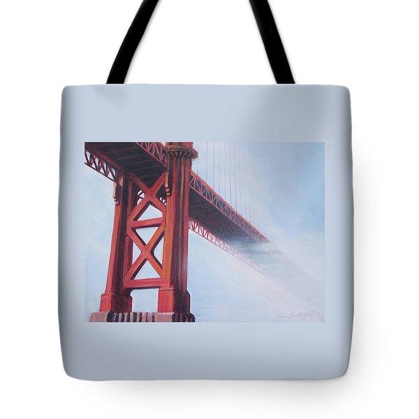 Golden Gate Bridge Tote Bag by Kean Butterfield