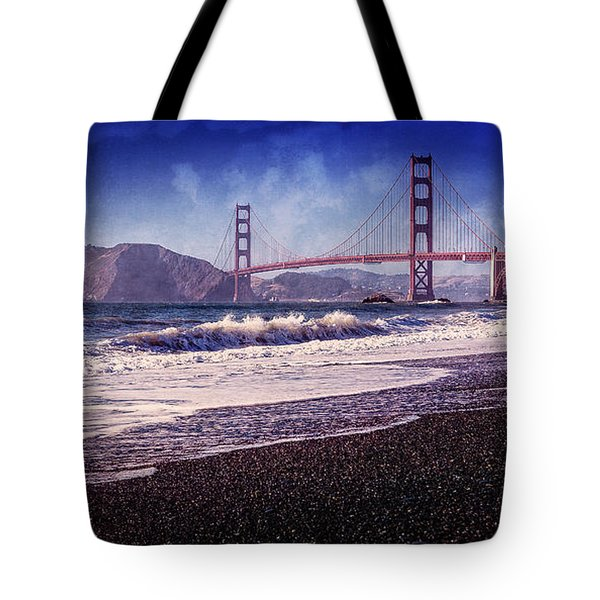 Golden Gate Tote Bag by Everet Regal