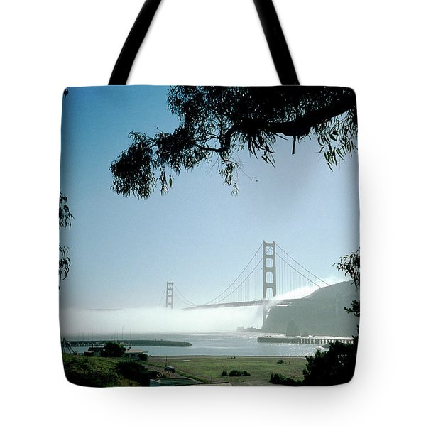 Golden Gate Fog  Tote Bag